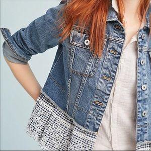 NWOT Anthropologie Pilcro jean jacket